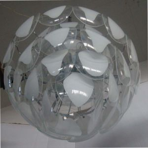 High Quality Living Room Glass Slice Fluorescen Pendant Lamp pictures & photos