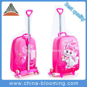 School Student Trolley Luggage Bag Kid Children 3D Suitcase pictures & photos