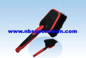 Plastic Car Wash Brush, Wheel Cleaning Brush (CN1889) pictures & photos