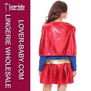 Halloween Superhero Supergirl Costumes (L1325) pictures & photos
