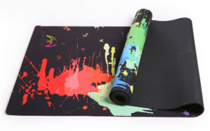 Natural Rubber Yoga Mat Eco-Friendly, Biodegradable Materials. Includes Carrying Strap. pictures & photos