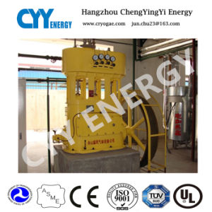 Three Rank Five Stage Lubrication Piston Nitrogen Air Compressor pictures & photos