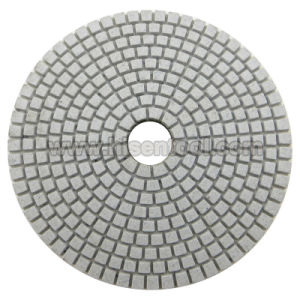 Professional White Resin Diamond Wet Polishing Pads pictures & photos