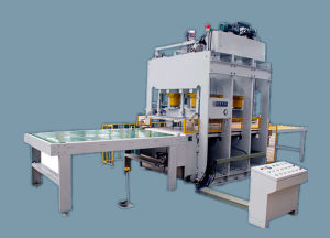 Short Cycle Melamine Paper Impregnation Line pictures & photos