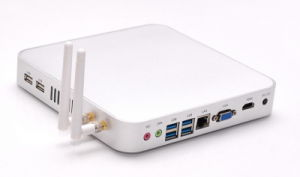 Fanless Intel Core I3 Mini PC (JFTC4005U) pictures & photos