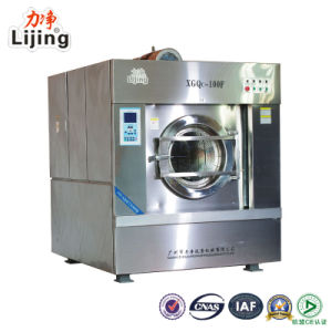 35kg Newly Updated Fully Enclosed Automatic Industrial Washer Extractor for Laundry Equipment pictures & photos
