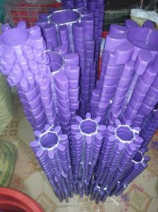 High Quality Purple Gr Coupling, PU Coupling, Polyurethane Coupling pictures & photos