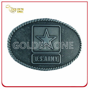 High Quality Army Antique Metal Belt Buckle pictures & photos