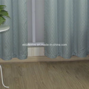 Polyester Embroidery Like Jacquard New Pattern Window Fabric Curtain pictures & photos
