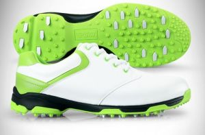 Top Qualtiy Golf Shoes Waterproof Spikes Handmade Sneakers (AKGS27) pictures & photos