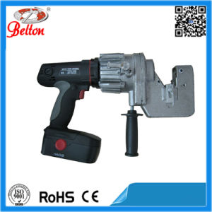 Cordless Battery Custom Craft Metal Plate Puncher Be-Mhp-20b 6mm Iron Plate Punching Tool pictures & photos