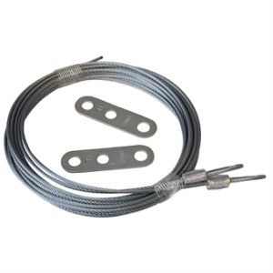 3 / 32 X 144 7X7 Extension Spring Retension Cables with Adjusting Clips / Metal Stamping Part pictures & photos