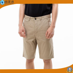 Men′s Fashion Casual Cotton Chino Pants Short Cargo Shorts pictures & photos