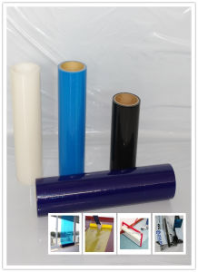 Blue Color Self-Adhesive Glass Protective Film with UV Resistance pictures & photos