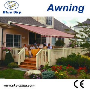 Good Quality Aluminum Outdoor Folding Arm Awnings B4100 pictures & photos