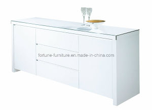Modern Wooden UV High Gloss White Sideboard (5023/52U) pictures & photos