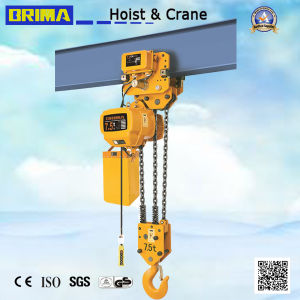 3ton Japan Electric Chain Hoist with Monorail Trolley (BM03-01S) pictures & photos