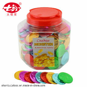 Hexagonal Bottle Coin Bubble Gum 2.6g pictures & photos