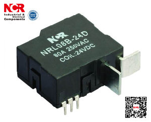 80A 48V 1-Phase Latching Relay (NRL709B) pictures & photos