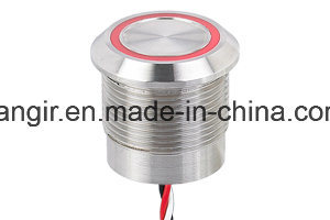 Stainless Steel Capacitive Switches with Large or Thin Ring (16mm 19mm 22mm 25mm) pictures & photos