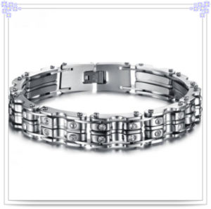 Fashion Jewellery Stainless Steel Bracelet for Charm Men (HR486)