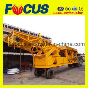 Best Selling Construction Machine Mobile Concrete Batching Plant 25m3/H pictures & photos