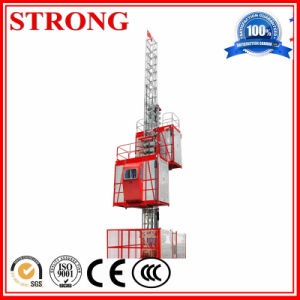 Sc200/200 New Construction Hoist with Best Price, Double Cage pictures & photos