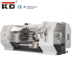 CNC Lathe Machine Big Bore Horizontal CNC Lathe Ck61125CE/10000 pictures & photos