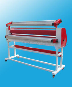 1.6m 63′ Full - Auto Wide Format Roll Heat Assisted Cold Laminator with Stand pictures & photos