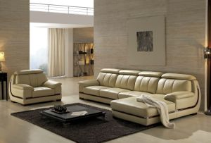 Leather Sectional Modern Sofa L Shaped Sofa pictures & photos