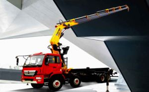 XCMG Sq14zk4q 14ton Folding-Arm Truck Crane Truck Mounted Crane pictures & photos