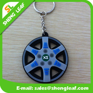 Promotion Gifts Custom-Made Rubber Keychains Product (SLF-KC035) pictures & photos