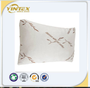 Bamboo Cover Shredded Memory Foam Pillow pictures & photos