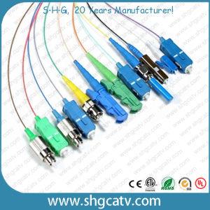 12 Color LC/Upc Fiber Optical Patch Cord Pigtails pictures & photos