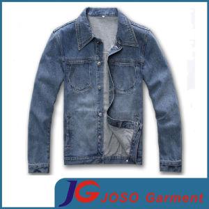 Classical Leisure Biker Denim Jacket for Men (JC7048) pictures & photos