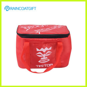 600d Polyester Promotional 6cans Cooler Bag pictures & photos