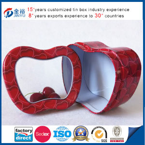 Apple Shaped PVC Window Promotion Gift Box pictures & photos