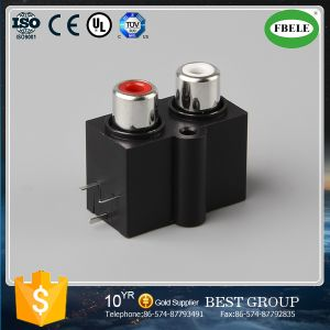 New Product Lotus Flower Receptacle AV Socket pictures & photos