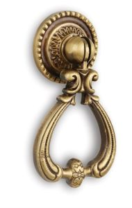 Copper Brass Bronze Door Knob Kitchen Knob with Gold Plated pictures & photos