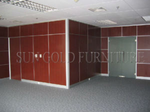 Modern Laminated Boards Decorative Movable Sound Proof Partition Wall (SZ-WS569) pictures & photos