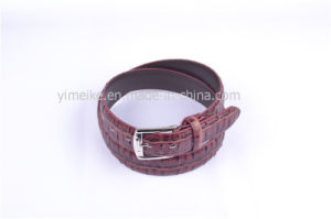 New Fashion Novel Design Grain Wholesales Men′s Casual Leather Belt pictures & photos