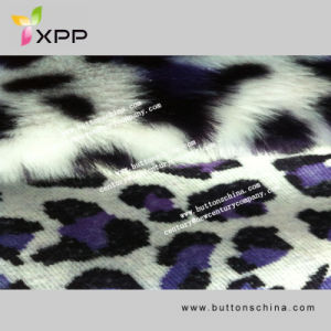 Stretch Fur Fabric Laminated Printing Suede Fabric for Fur Coat pictures & photos