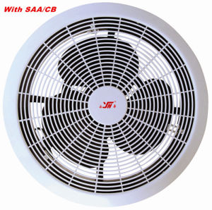 Plastic Ventilation Fan with SAA/CB Approval/100% Copper Motor pictures & photos