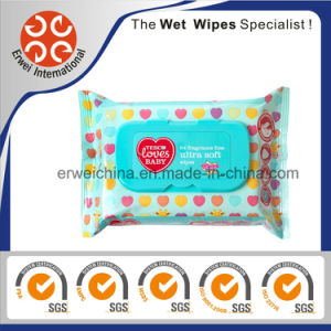 64PCS Fragrance Free Ultra Soft Baby Wipes pictures & photos
