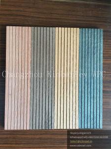 Wood Grain WPC Solid DIY Floor pictures & photos