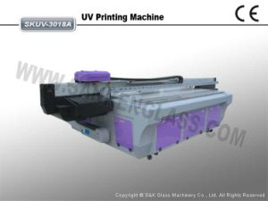 Glass Printer UV Printing Machine Skuv-3018A pictures & photos