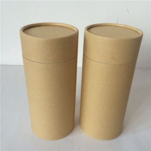 Plain Brown Kraft Paper Box Kraft Paper Tube pictures & photos