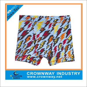 Custom Boys Cotton Shorts Underwear Boxers with Sublimation Print pictures & photos