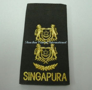 Army Badge with 3D Reflective Embroidery pictures & photos