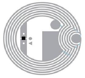 Icodeslix Icodeslis 22mm Nfc Tag RFID Inlay